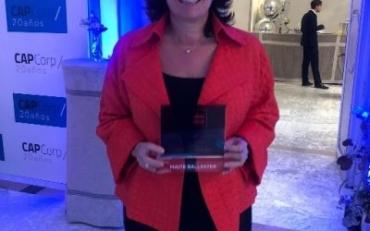 CAPCorp premia a Maite Ballester por su brillante trayectoria