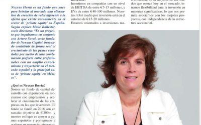 Entrevista a Maite Ballester en Sector Ejecutivo